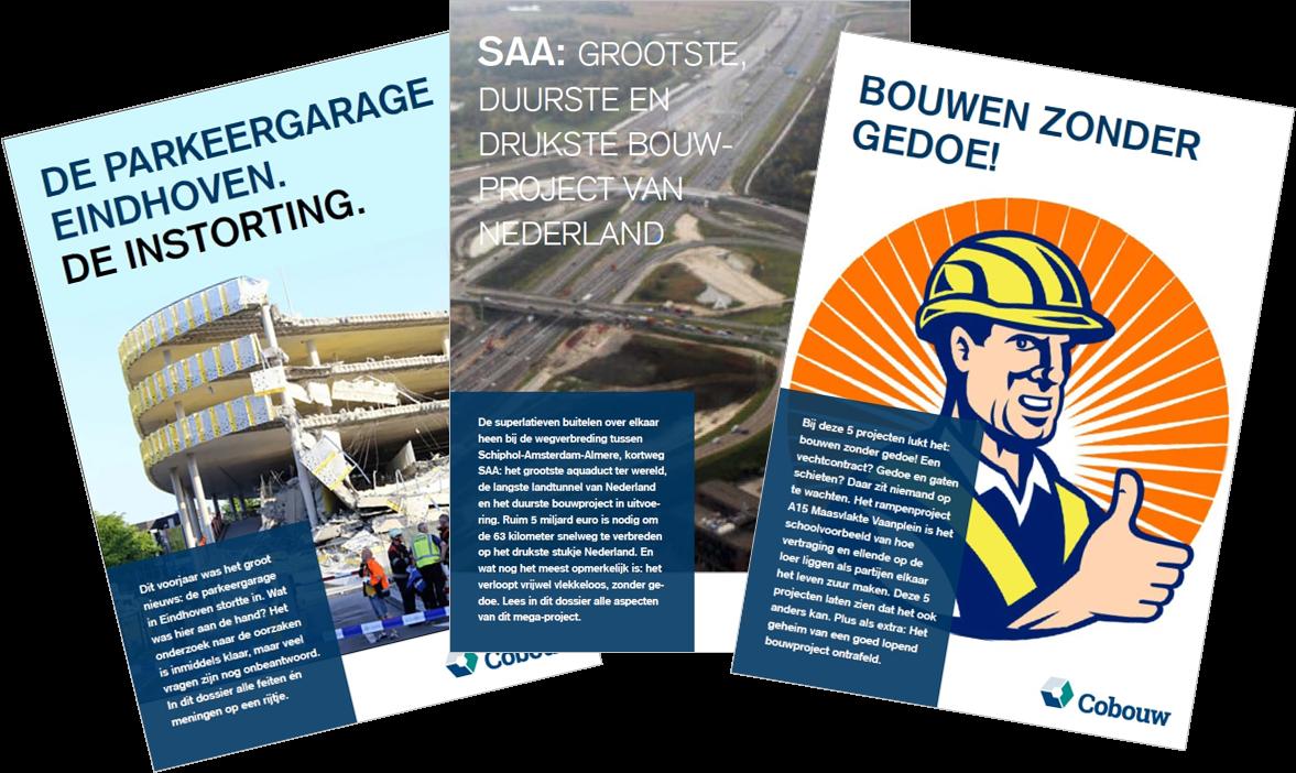 Dossiers van Cobouw.nl