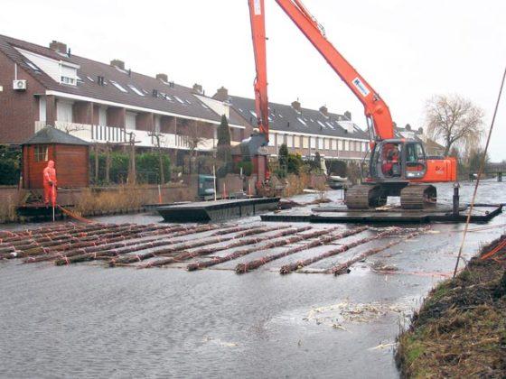 Zinkstuk houdt bodem Volendam in bedwang
