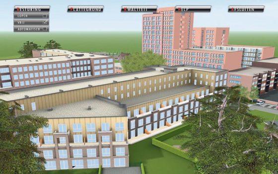 Virtuele wandeling maken door toekomstige woonwijk