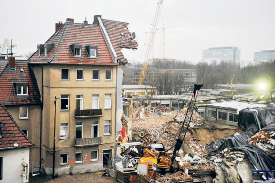 Gesteldheid bodem naast U-Bahn nauwelijks onderzocht