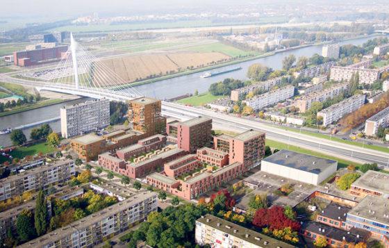 Opwaardering Kanaleneiland begint met bouw 250 woningen