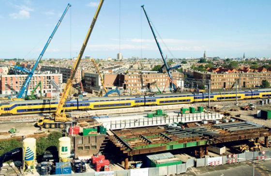 Slopen en storten voor nieuw viaduct