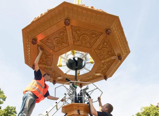 Arnhemse fonteinen in ere hersteld