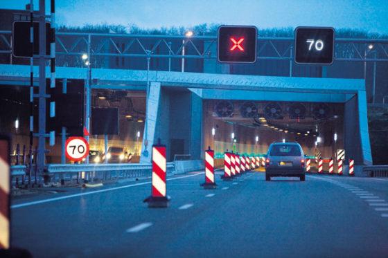 Tunnels A73 definitief open, maar nog al tijd niet klaar