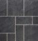 1000224 trentone wildverband 6cm rustic slate black 75x80