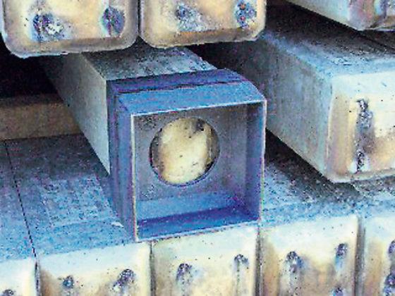 Verbindingskoppeling maakt heipalen op locatie op lengte