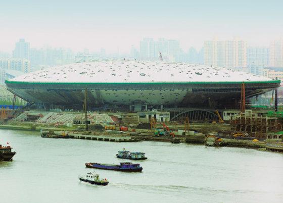 World Expo Shanghai toonbeeld duurzaamheid