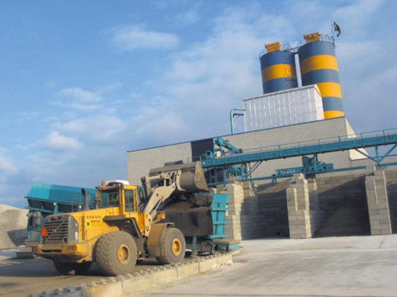 Fabriek maakt zand uit spoorballast