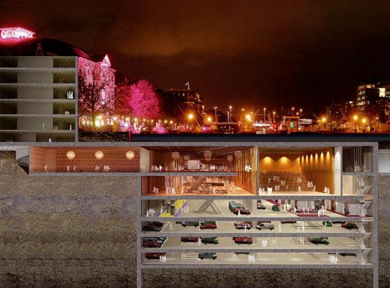 Strukton wil ondergrondse stad bouwen