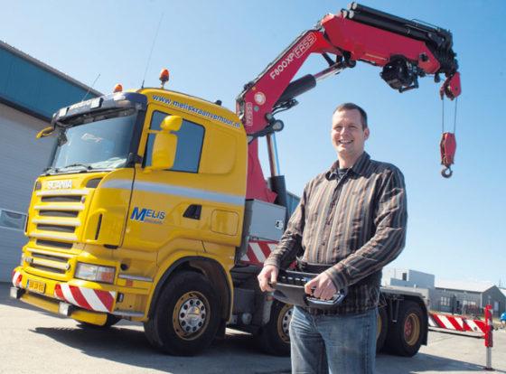 Melis Middelburg: 'Kranen en motoren passen goed bij elkaar'