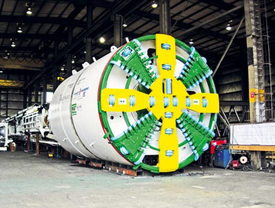 Vastzittende tunnelboor belemmert bouw waterzuivering