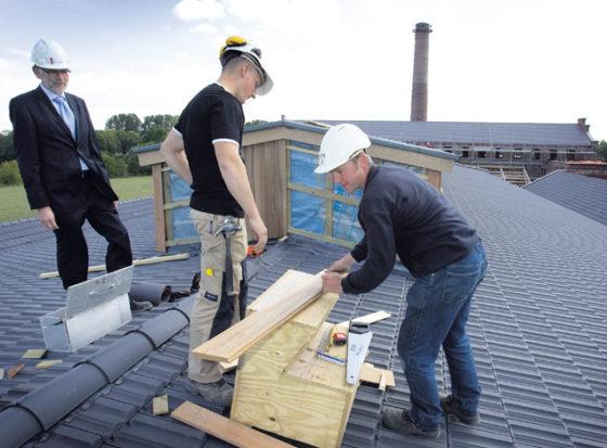 Vaste baan wint terrein terug op flexwerk bouwplaats