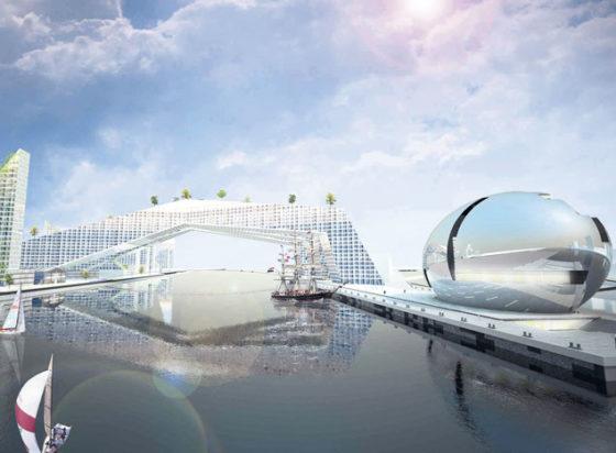 Olympische brug over IJ