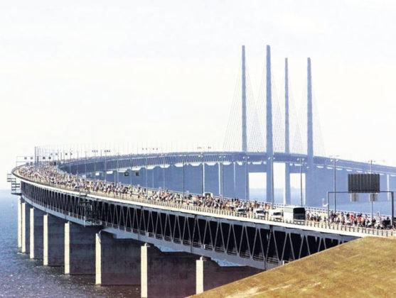 Brug Zweden civieltechnisch hoogstandje