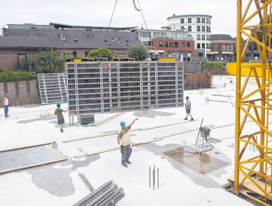 Doorwerken in de bouwvak