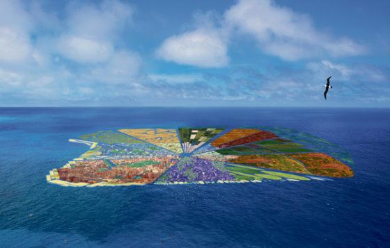 Rotterdamse architect wil eiland maken van gerecyclede plastic soep