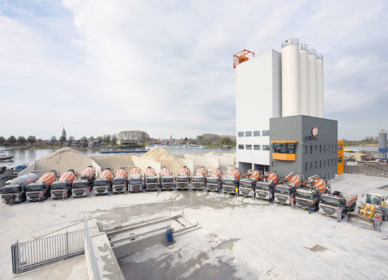 Moderne betoncentrale gebruiksvriendelijk