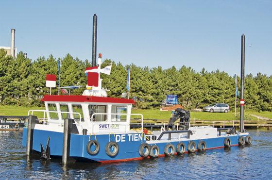 SwetsODV breidt vloot uit met werk- en patrouilleschepen