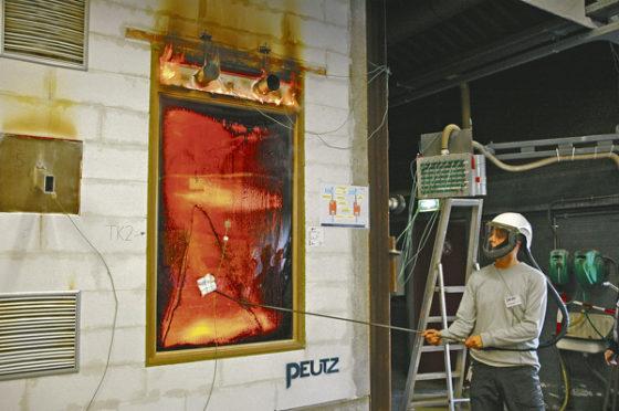 Brandproeven: soms kijk je uren naar een dichte wand