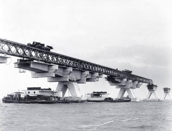 De Zeelandbrug: simpele en zeer degelijke constructie