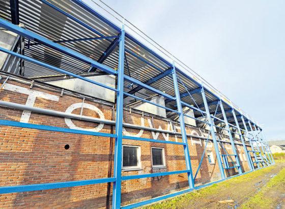 Uitbreiding fabriek zonder extra grondgebruik