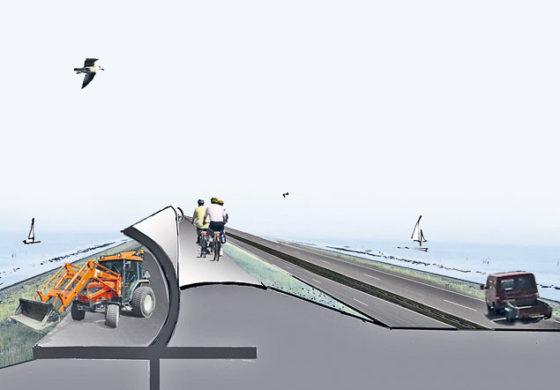 Stormschild kan Afsluitdijk vernieuwen