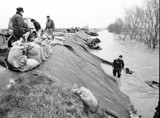 Evacuatie 1995 werkte alarmerend