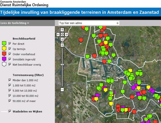 Braakliggende terreinen digitaal in kaart gebracht