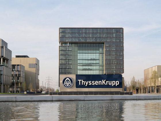 ThyssenKrupp boekt na drie jaar weer winst