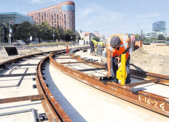 Keerlus voor tramlijnen
