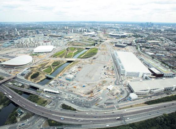 Olympische bouw Londen   bijna klaar