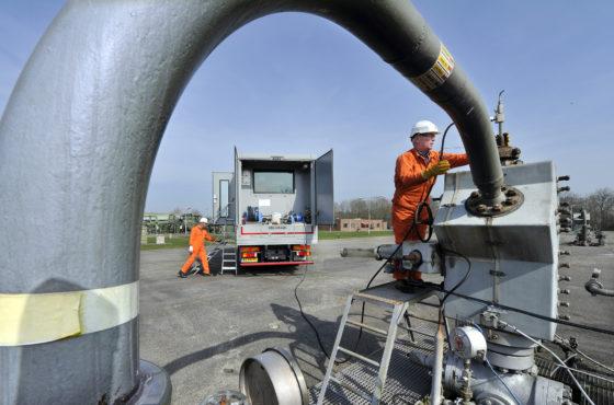 Mobiele detectie lekken in opslag CO2