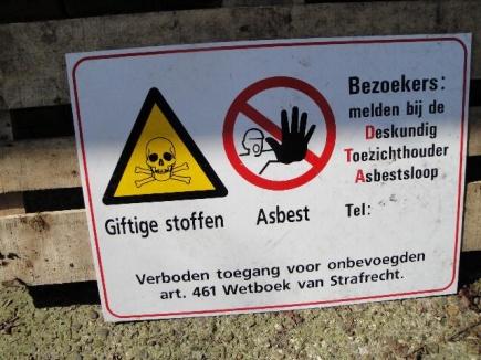 Stevigere controle op asbestverwijderaars