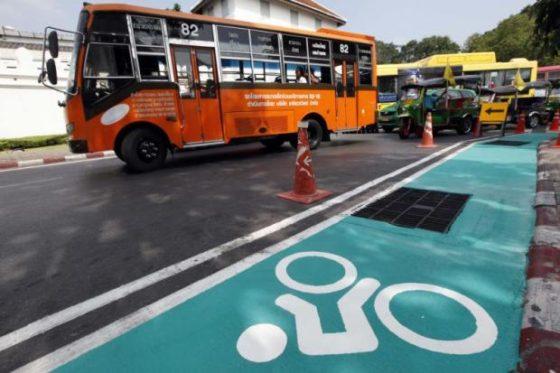 Zelfs Bangkok gaat fietsen