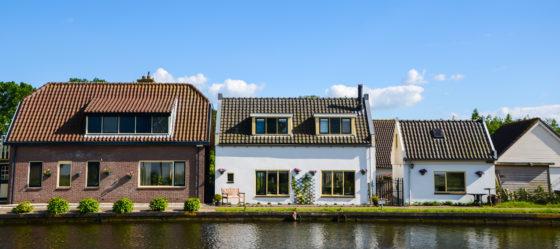 Huizen worden kleiner
