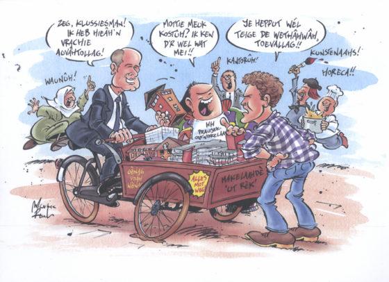 Den Haag koploper transformeren