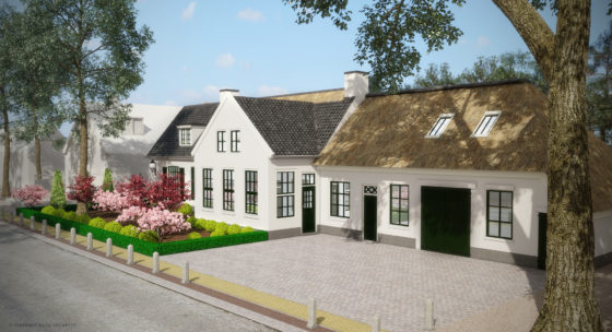 Oude smederij Lage Vuursche heet straks Royal Residence