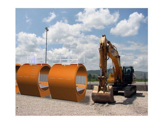 De Hamer levert onderdelen tsunami-shelters