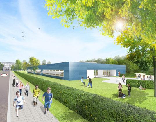 Permanent schoolgebouw binnen tien weken
