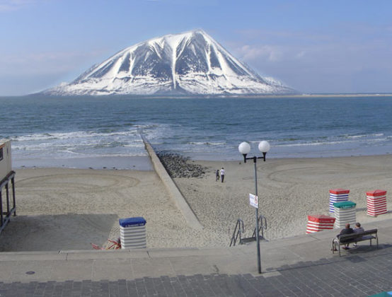 Berg in Nederland krijgt vorm