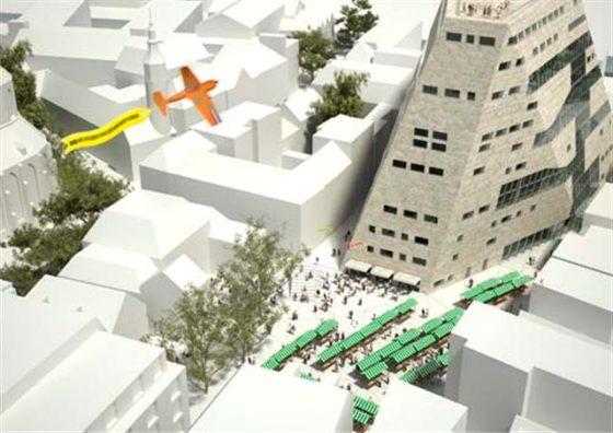 Centrum Groningen maakt zich op voor sloop