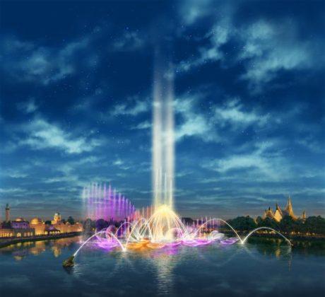 Kuipers Industrie levert installatie voor fonteinattractie de Efteling