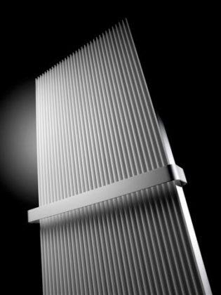 Moderne radiator met optimale warmteafgifte