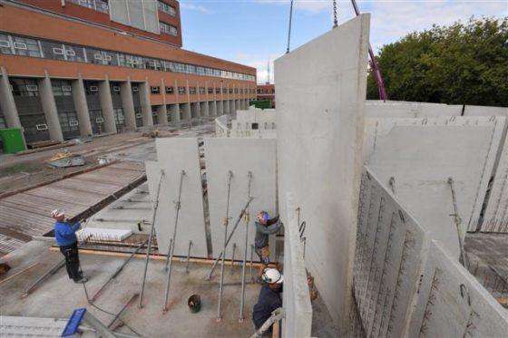 Metersdik beton