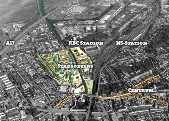 Corporatie legt bouw project Stadsoevers stil