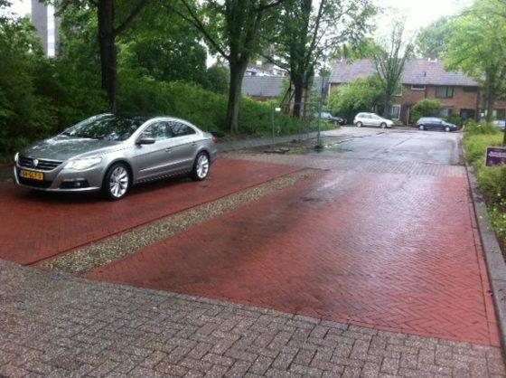 Alkmaar maakt werk van systeem'kolkloze regenwaterafvoer'
