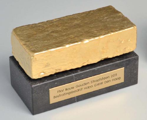 Habo GWW en Purmerend winnen Gouden Straatsteen