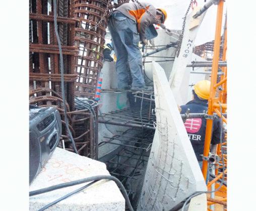 Prefab- en hogesterktebeton helpt bouwers Sagrada Família
