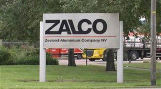 Doorstart aluminiumfabriek Zalco