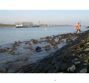 Waterspanning bij Kildijk gemeten